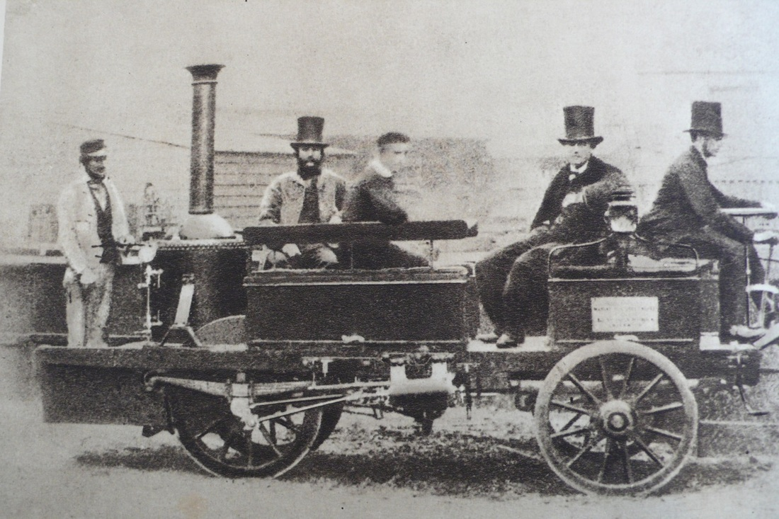 Manchester Hosted The First Car Race In 1867 Steam Engine Diagram