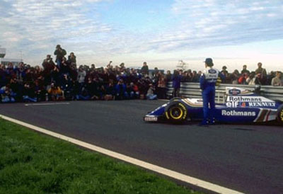 Williams FW15D