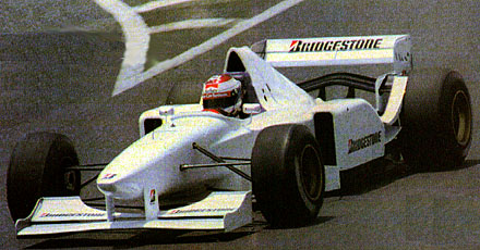 Ligier JS41 Bridgestone test car