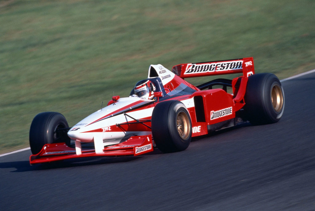 Arrows FA17 Bridgestone test car