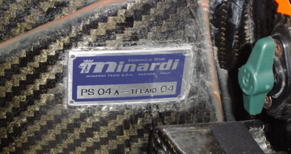 Minardi PS04A