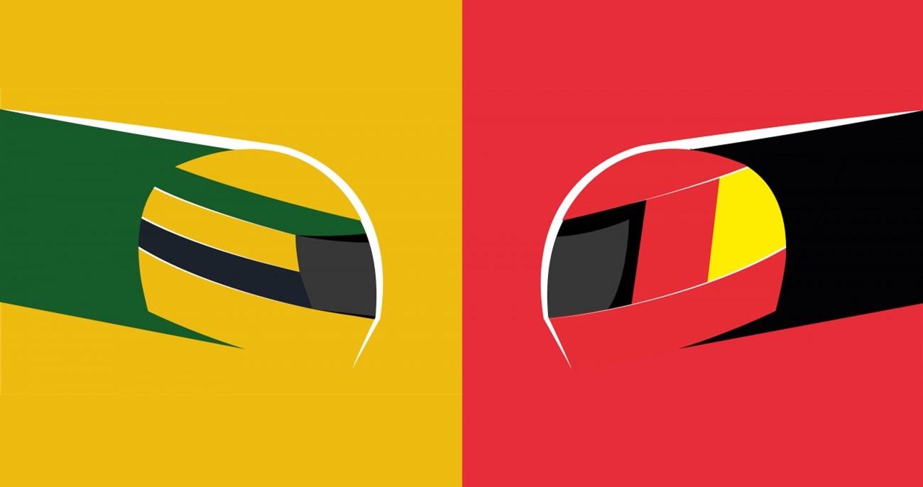 Senna versus schumacher